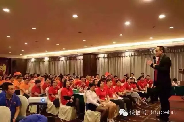 尹高洁老师在会场讲课