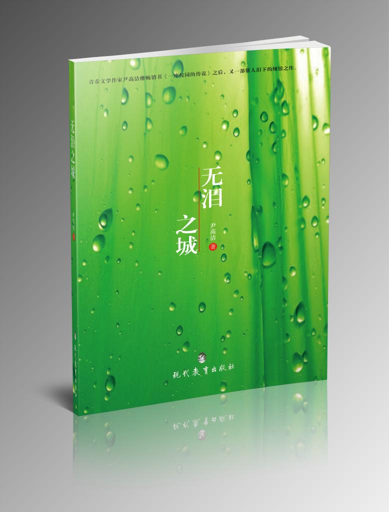 尹高洁老师已出版原创青春小说《无泪之城》正在凑拍电影